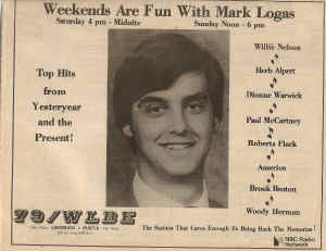 WLBE-Mark Logas Newspaper Ad.jpg (270900 bytes)